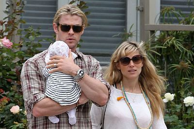 Chris Hemsworth and his wife Elsa Pakaty welcomed baby India in May.