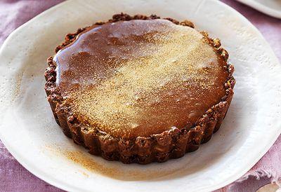 Salted caramel Tim Tam tarts