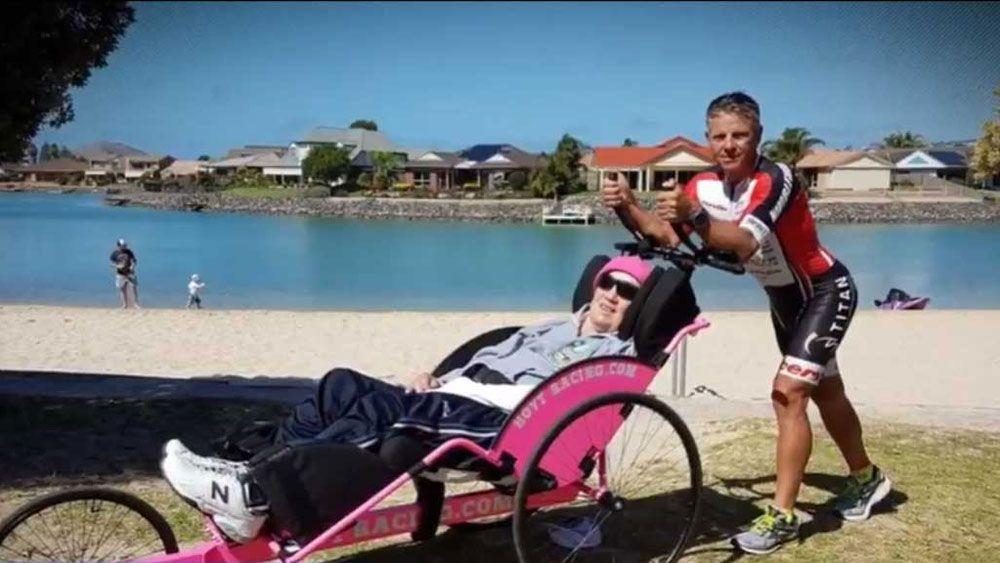 Australian quadriplegic Sid James forced out of Hawaiian Ironman triathlon world championships