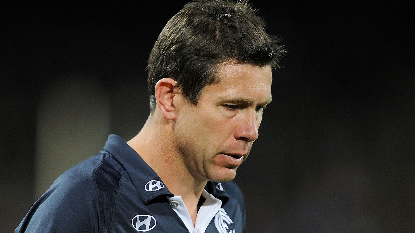 Mitch Robinson says replacing Brett Ratten with Mick Malthouse in 2012 'ruined' Carlton