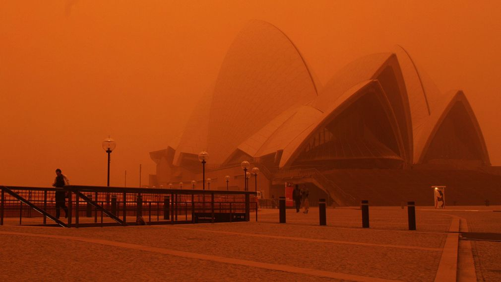 190924 NSW Dust Storm 2009 ten years anniversary before and after photos weather news Australia