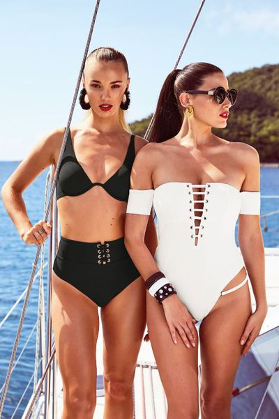 Tahnee Atkinson and Brooke Hogan fronting Bras N Things' new swimwear collection