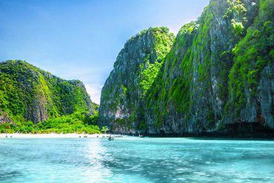 9. Maya Bay in Phi Phi Island, Thailand