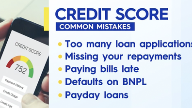 Common mistake people make with credit scores.