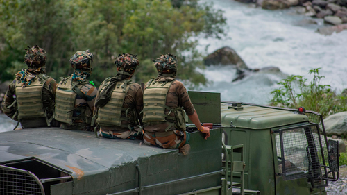 A Chinese soldier was apprehended on the Indian side of the Line of Actual Control (LAC), south of the Pangong Tso lake in the Ladakh region on Friday, the Indian Army said in a statement.