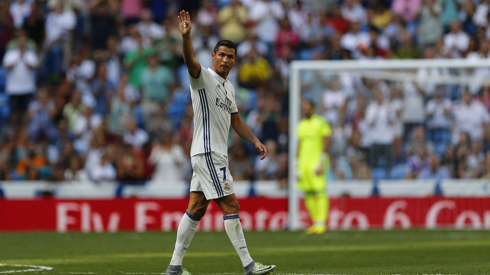 Cristiano Ronaldo wants to see out his career at Real Madrid.(AAP)