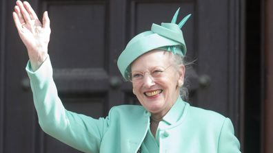 Queen Margrethe II of Denmark attends a reception at Copenhagen Town Hall, for her 75th Birthday on April 16, 2015 in Copenhagen, Denmark