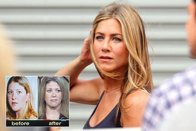 Single mum Kelly Chandler spent $26,000 on breast implants, liposuction and a nose job to look like Jennifer Aniston and make her ex-husband mad with jealousy.