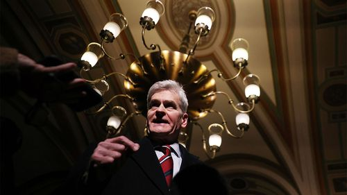 Republican Bill Cassidy changed his vote after maligning the arguments from Donald Trump's lawyers.