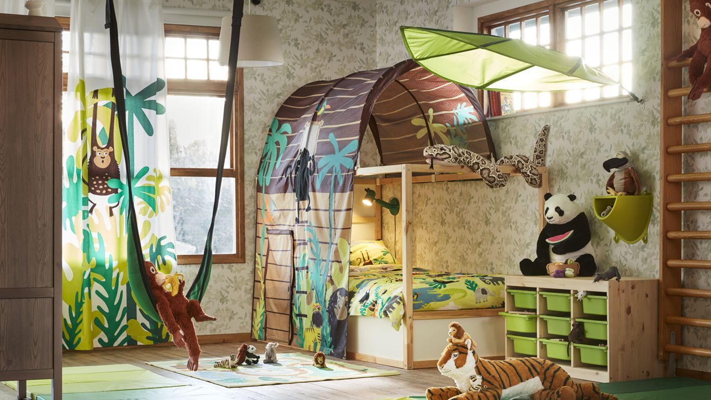 New IKEA childrens collections inspired by the jungle and endangered animals
