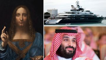 'Salvator Mundi' is said to be on the $810m superyacht of Mohammed bin Salman.