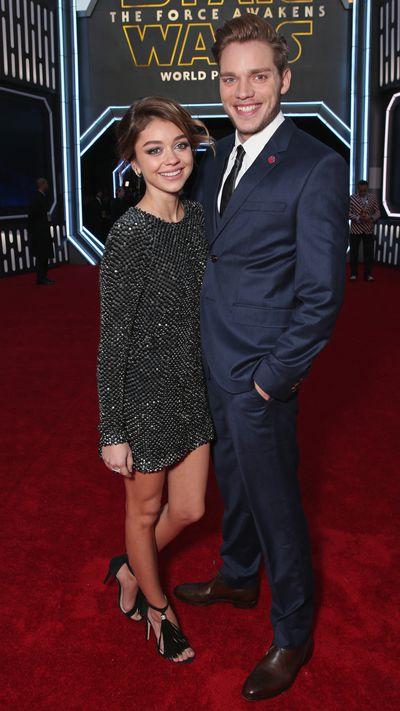 Sarah Hyland and Dominic Sherwood