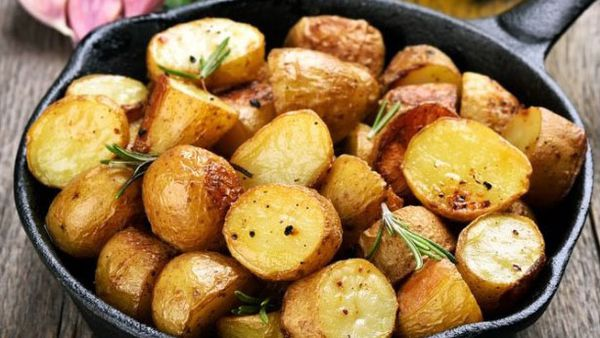 One trick to perfect roast potatoes