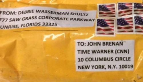 The mail bomb was sent to CNN in New York alongside others sent to the Obamas and Clintons and the White House.