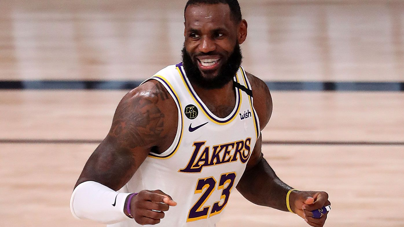 History setting LeBron sparks Lakers to 112-102 victory over Rockets