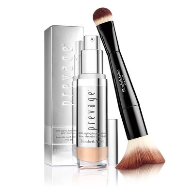 "<p>If you have time to apply foundation, ensure it's working double time. You want one that provides skin benefits and also, protects from the sun and the elements.</p> <p><a href=""https://www.myer.com.au/shop/mystore/elizabeth-arden-prevage-foundation"" target=""_blank"">Elizabeth Arden Prevage Anti-Aging Foundation SPF 30, $85.</a></p>"