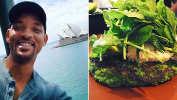 'It broke me, y'all': Will Smith raves about Bondi cafe