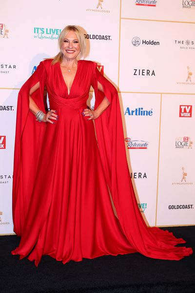 Kerri-Anne Kennerly at the 2018 Logie Awards