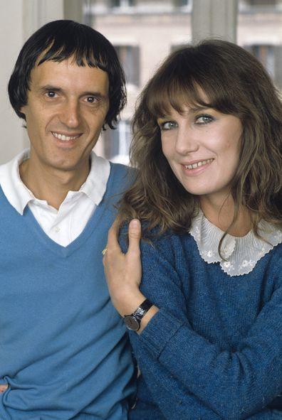 Dario Argento and Daria Nicolodi