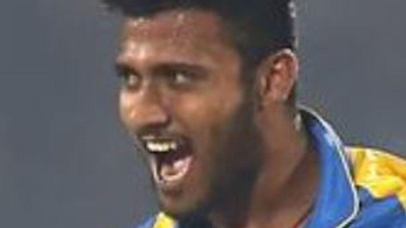 Sri Lankan hat-trick fast bowler Shehan Madushanka suspended after heroin arrest