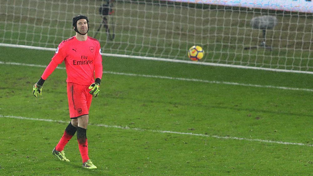EPL: Arsenal lose to Swansea as Petr Cech rues howler