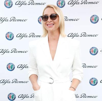 Actress Asher Keddie at the 2018 Portsea Polo