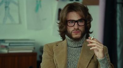 Gaspard Ulliel portrayed the complex designer in the 2014 French drama<em> Saint Laurent</em>.