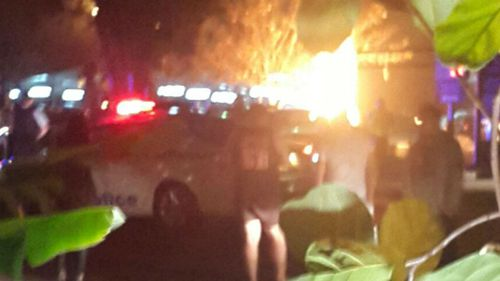 Police are investigating, however they believe the explosion was accidental. (Supplied)