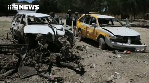 Suicide car bomb kills 18 in Afghanistan on first day of Ramadan