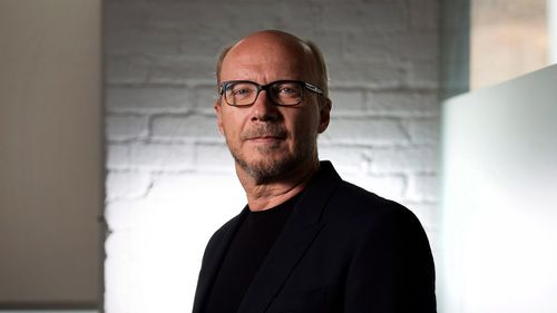Paul Haggis poses for a photo in Toronto during the 2014 Toronto International Film Festival. (AAP)