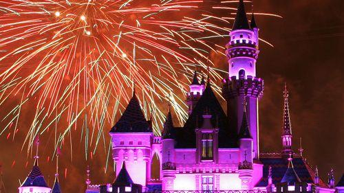 Disneyland In Anaheim, LA.