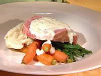 Corned Beef With Mustard Sauce