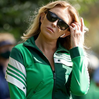 Paulina Gretzky at the 2020 Masters final round.