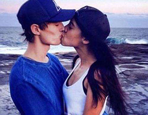 Dane McNeill and his girlfriend. (Facebook)