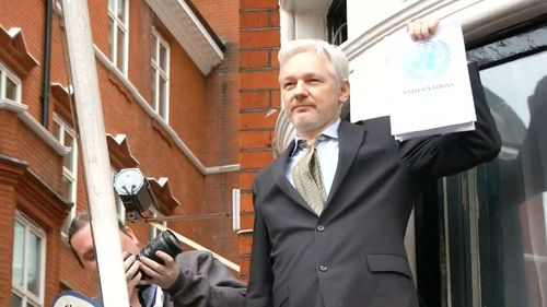 Assange remains holed up in the Ecuadorian Embassy in London as a political asylum seeker.