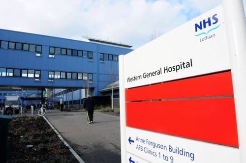 The man remains in a coma at Western General Hospital in Lothian, Scotland.