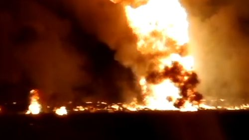 Mexico gasoline pipeline explosion