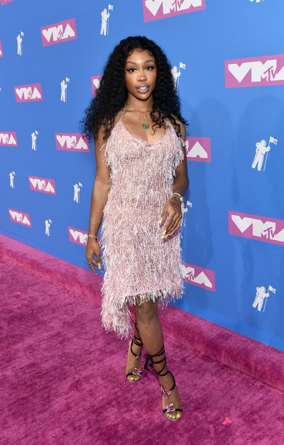 SZA in Rodarte at the 2018 MTV Video Music Awards
