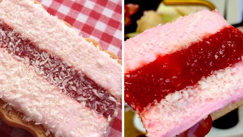 Iced vovo cakes