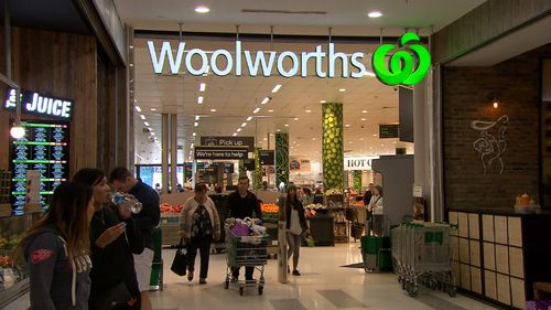 Last year, Woolworths put more than $1-billion dollars into lowering prices and improving the in-store experience. Picture: 9NEWS