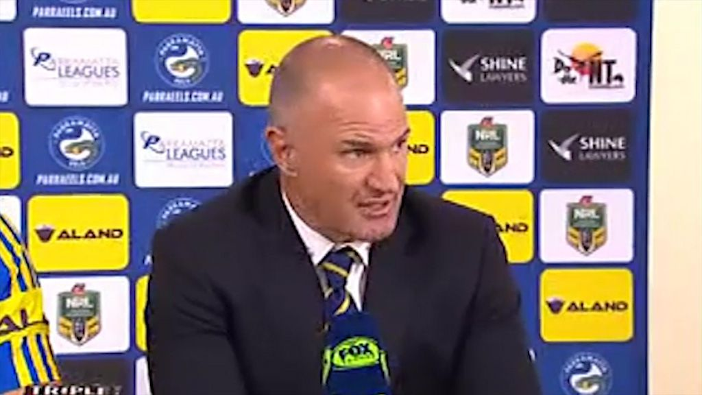 Eels didn't handle finals talk