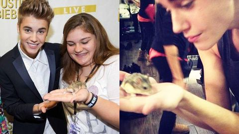 Bad Bieber: Justin slammed for 'cruelty to hamsters'