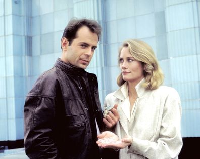 Bruce Willis as David Addison and Cybill Shepherd as Madeline 'Maddie' Hayes