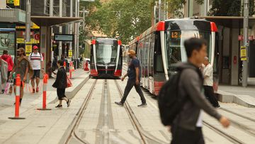 Pedestrians, cyclists and motorists are being warned to adapt when the new Sydney light rail begins.
