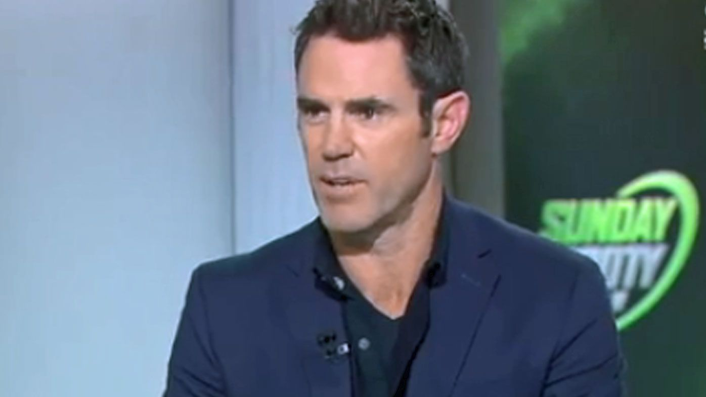 Brad Fittler on Sunday Footy Show