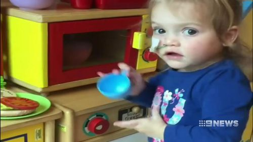 The family's short-term goal is to get her well enough to go home. (9NEWS)
