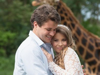 Bindi Irwin, Chandler Powell, wedding