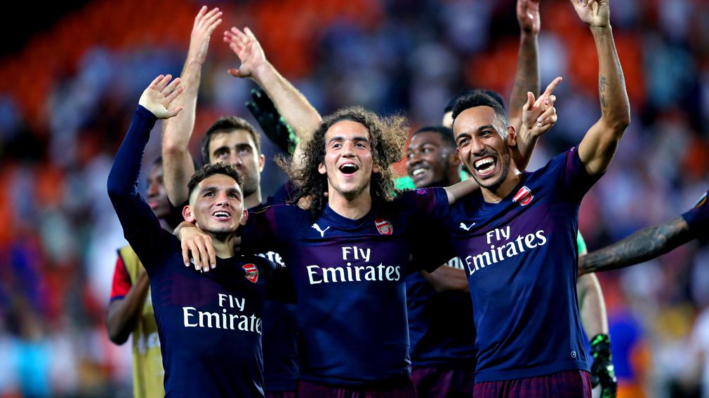 190510 Europa League Arsenal win Valencia semi final Sport News World Europe