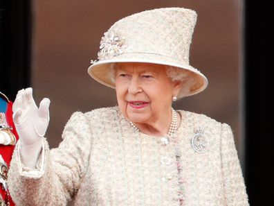 Queen Elizabeth Trooping The Colour 2020