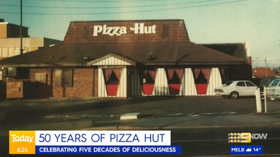 Pizza Hut's first restaurant in south-western Sydney